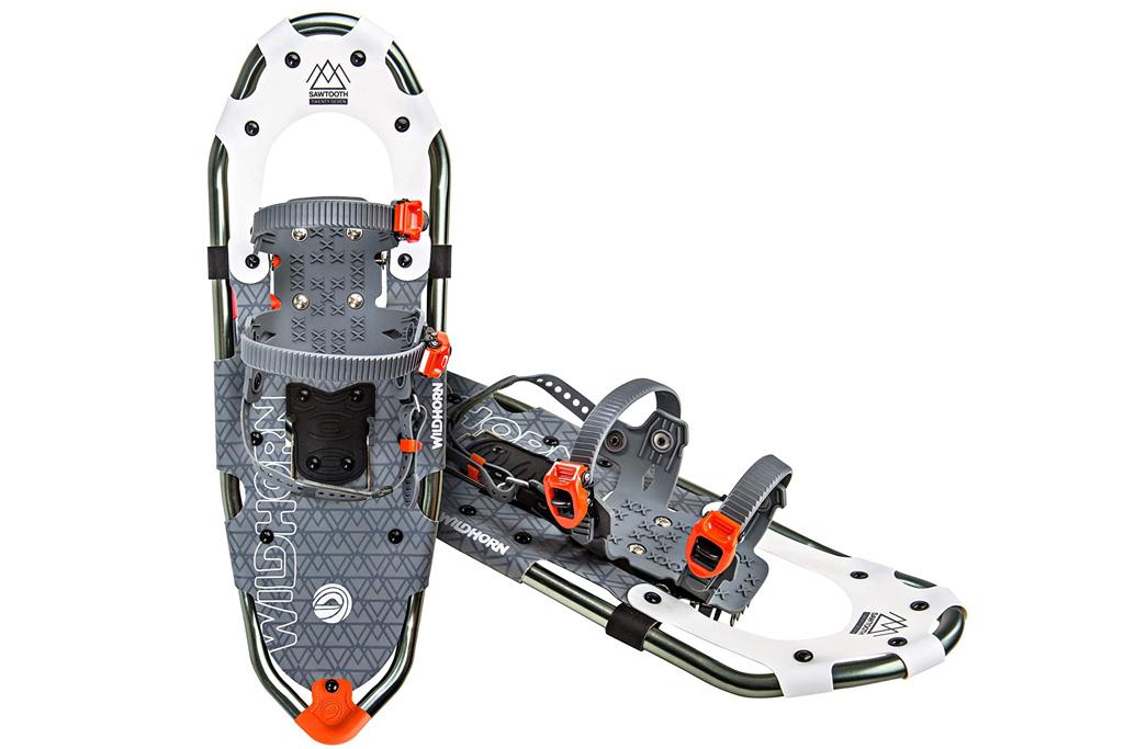 snowboots, snowshoes