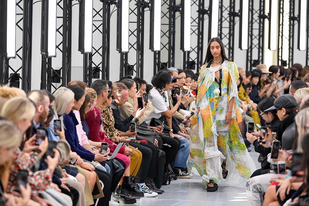 Sacai spring '20, Paris Fashion Week.