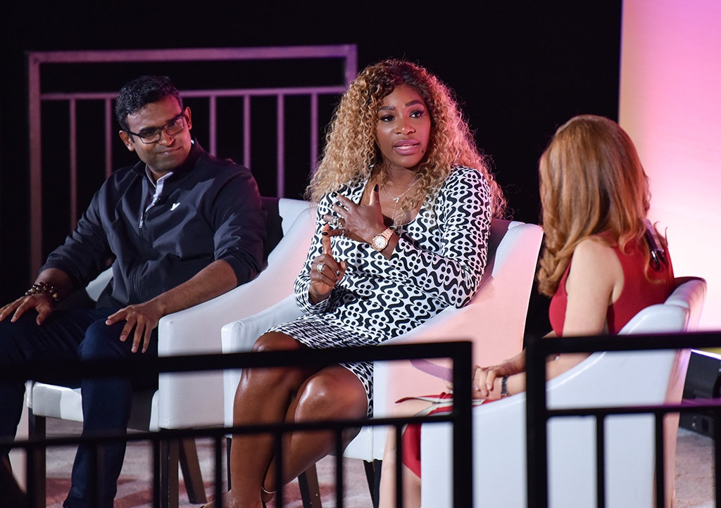 Serena Williams and Verizon Media's CEO Guru Gowrappan