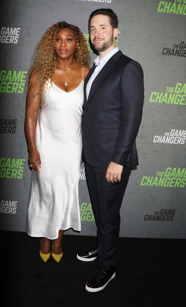 Serena Williams, Alexis Ohanian'The Game Changers' film screening, Arrivals, New York, USA - 09 Sep 2019