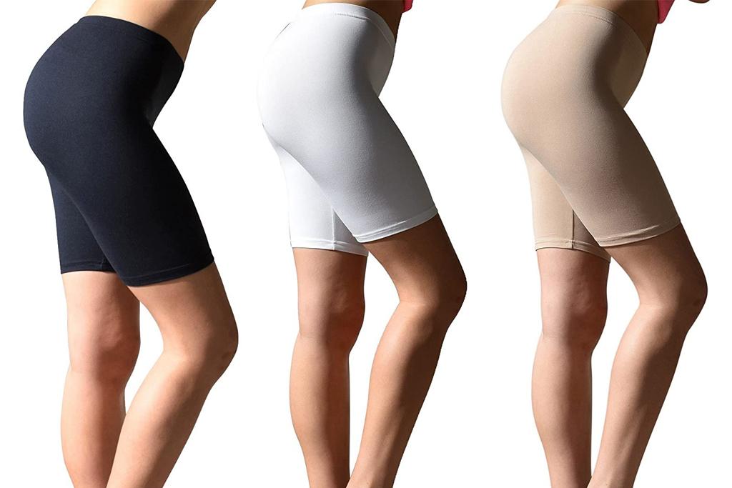sexy basics, bike shorts