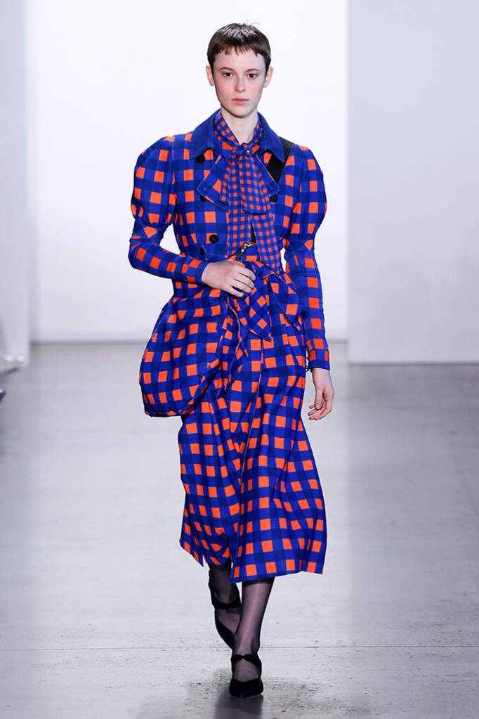 Model on the catwalkSelf-Portrait show, Runway, Fall Winter 2019, New York Fashion Week, USA - 09 Feb 2019
