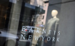 Signage for Barneys New York department