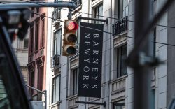This photo shows the Barneys department