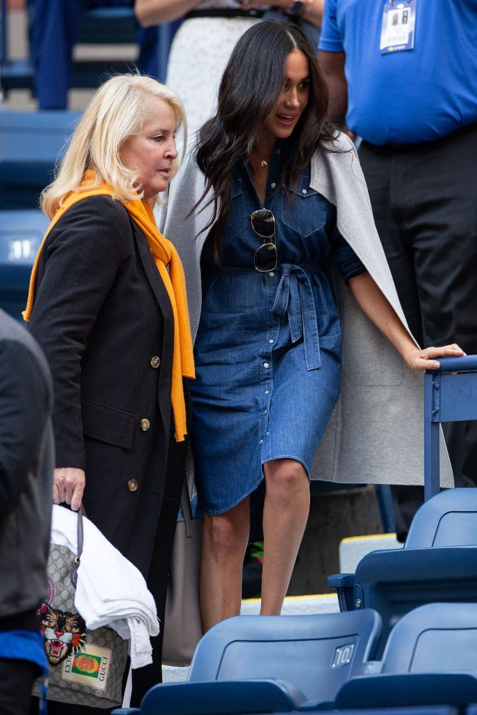 Meghan Markle, US Open, denim dress