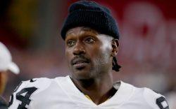 Oakland Raiders wide receiver Antonio Brown