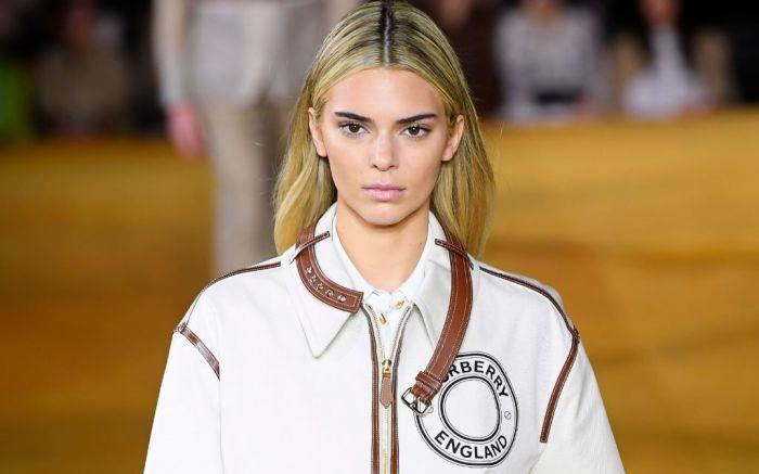 Burberry Spring 2020 Kendall Jenner