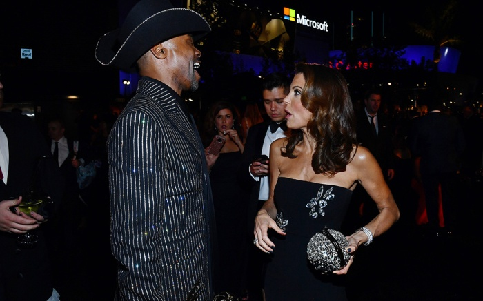 Billy Porter and Bethenny Frankel71st Annual Primetime Emmy Awards, Governors Ball, Microsoft Theatre, Los Angeles, USA - 22 Sep 2019