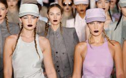 Gigi, Bella Hadid, runway, mfw, and