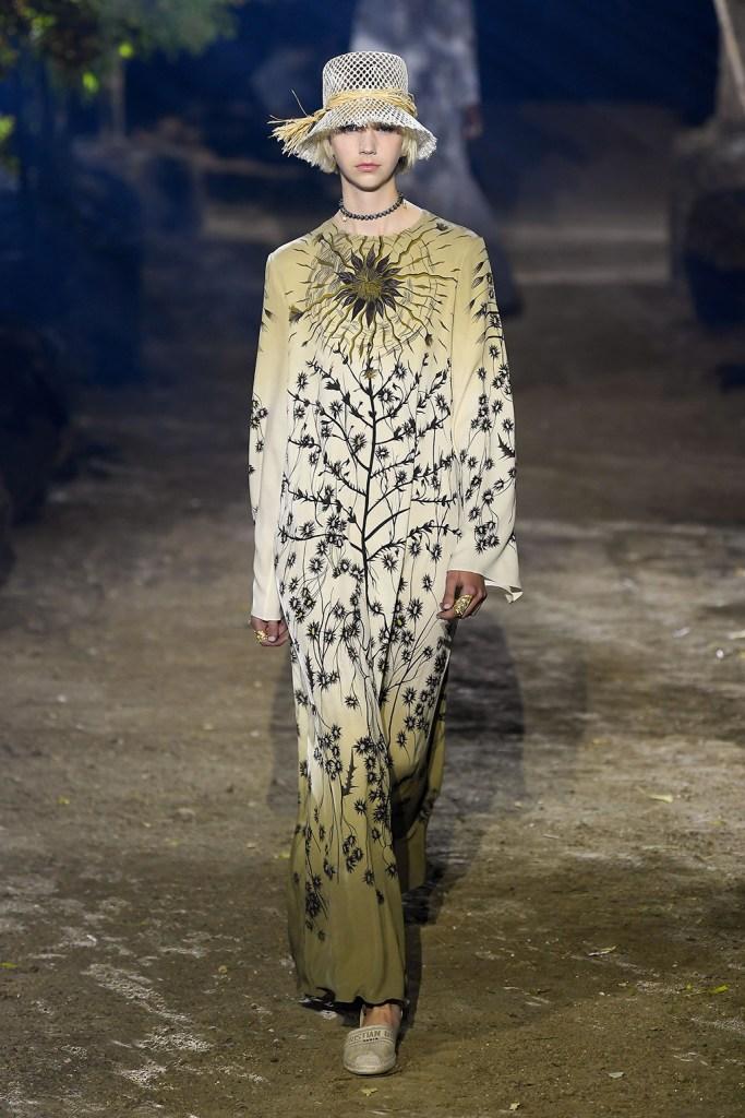 Model on the catwalkDior show, Runway, Spring Summer 2020, Paris Fashion Week, France - 24 Sep 2019