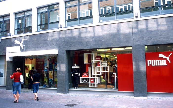 Puma shop, Carnaby Street, London, England, Britain Various - 2000s