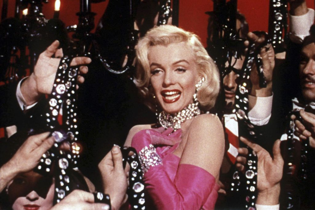 marilyn, monroe, hot, pink, diamonds, are, a, girls, best, friend