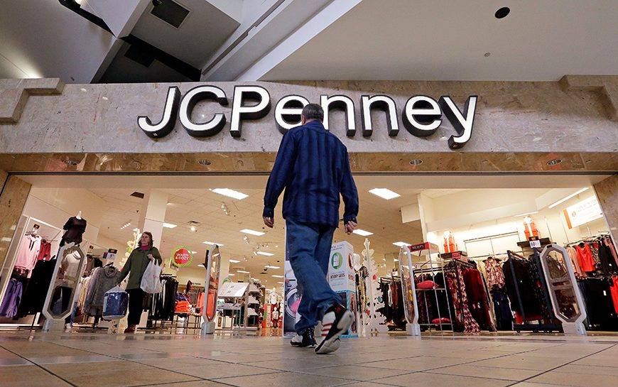 A shopper heads into a J.C. Penney store, in Seattle. Black Friday has morphed from a single day when people got up early to score doorbusters into a whole season of deals, so shoppers may feel less need to be outHoliday Shopping Black Friday, Seattle, USA - 24 Nov 2017