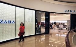 The store of Spanish fashoin retailer