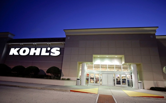 In this Aug. 22, 2017, photo the entrance of a Kohl's department store is seen in Orlando, Fla. Kohl's Corp. reports financial results onEarns Kohls, Orlando, USA - 22 Aug 2017