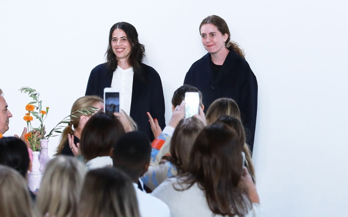 Floriana Gavriel and Rachel Mansur on the catwalkMansur Gavriel show, Runway, Spring Summer 2019, New York Fashion Week, USA - 09 Sep 2018