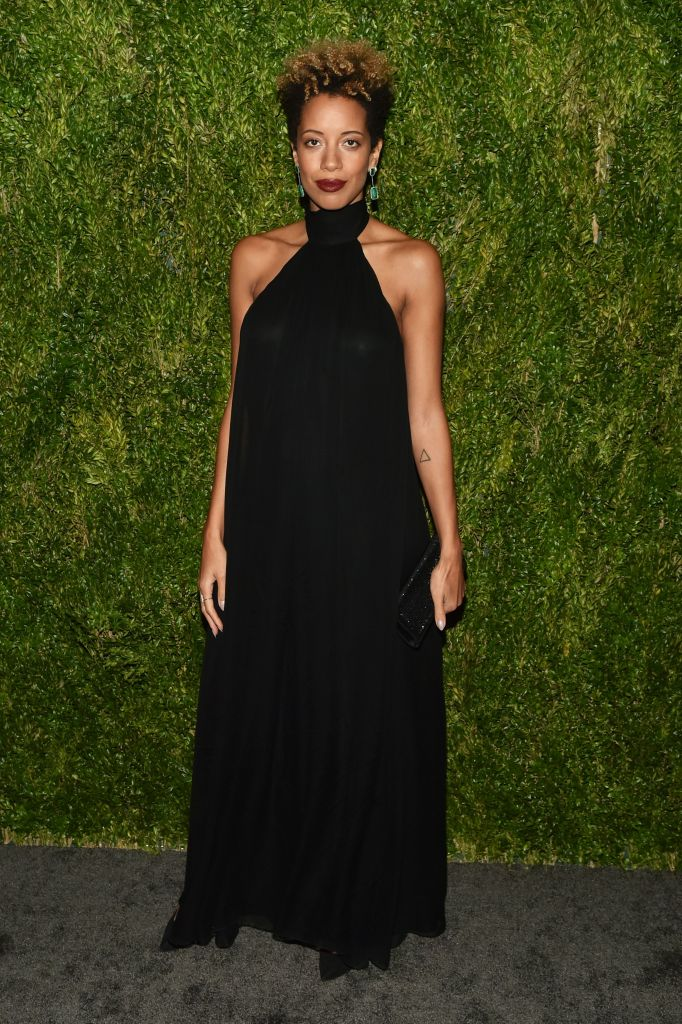 Carly Cushnie15th Annual CFDA Vogue Fashion Fund Awards, Arrivals, New York, USA - 05 Nov 2018 Wearing Own Collection