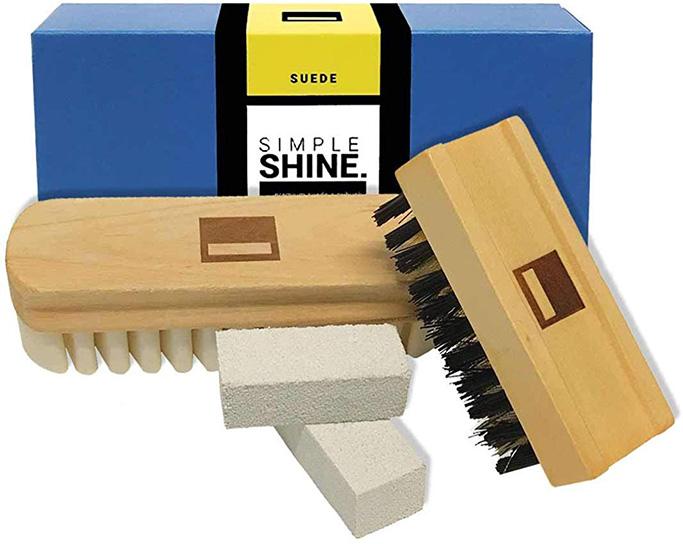 Simple Shine Premium Suede and Nubuck Brush