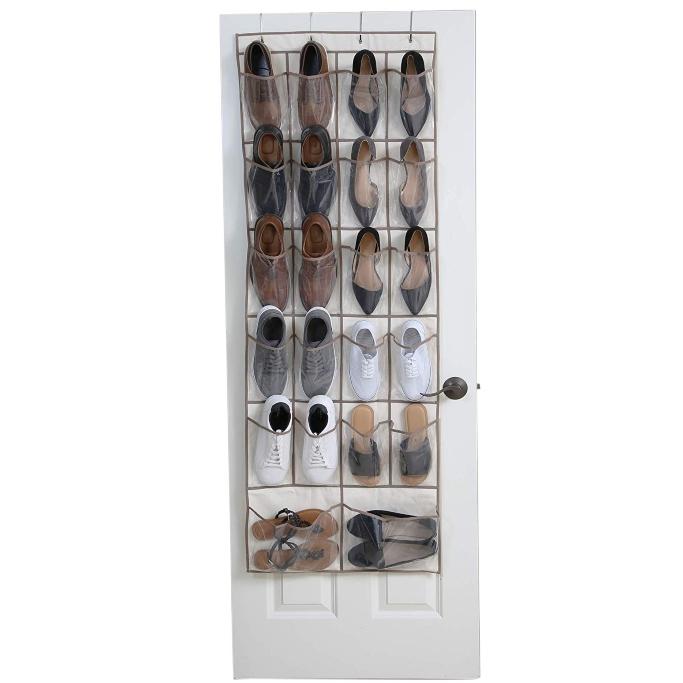Smart Design 22 Pocket Over The Door Organizer