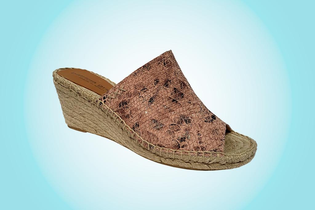 Patricia Green, espadrilles, snake print shoes