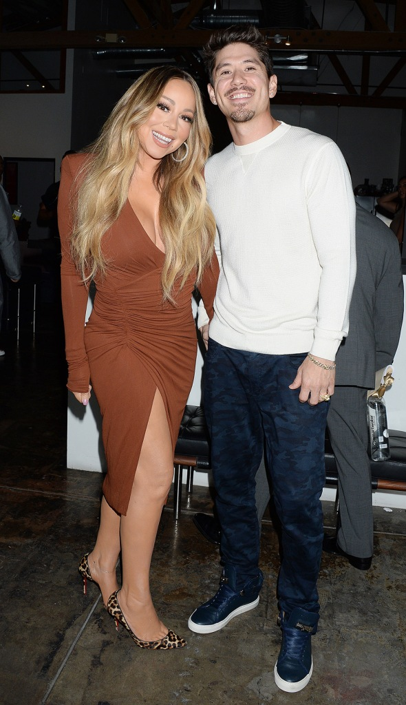 Mariah Carey, Alexandre vauthier dress, celebrity style, christian louboutin shoes, leopard print pumps, and boyfriend Bryan Tanaka out and about.Pictured: Mariah Carey,Bryan Tanaka,Mariah Carey and boyfriend Bryan TanakaRef: SPL5116457 160919 NON-EXCLUSIVEPicture by: ENT / SplashNews.comSplash News and PicturesLos Angeles: 310-821-2666New York: 212-619-2666London: +44 (0)20 7644 7656Berlin: +49 175 3764 166photodesk@splashnews.comWorld Rights, No France Rights, No Italy Rights, No Japan Rights