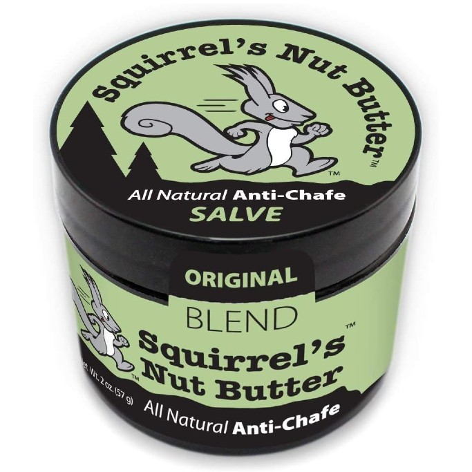 Squirrel's Nut Butter All Natural Anti Chafe Salve,