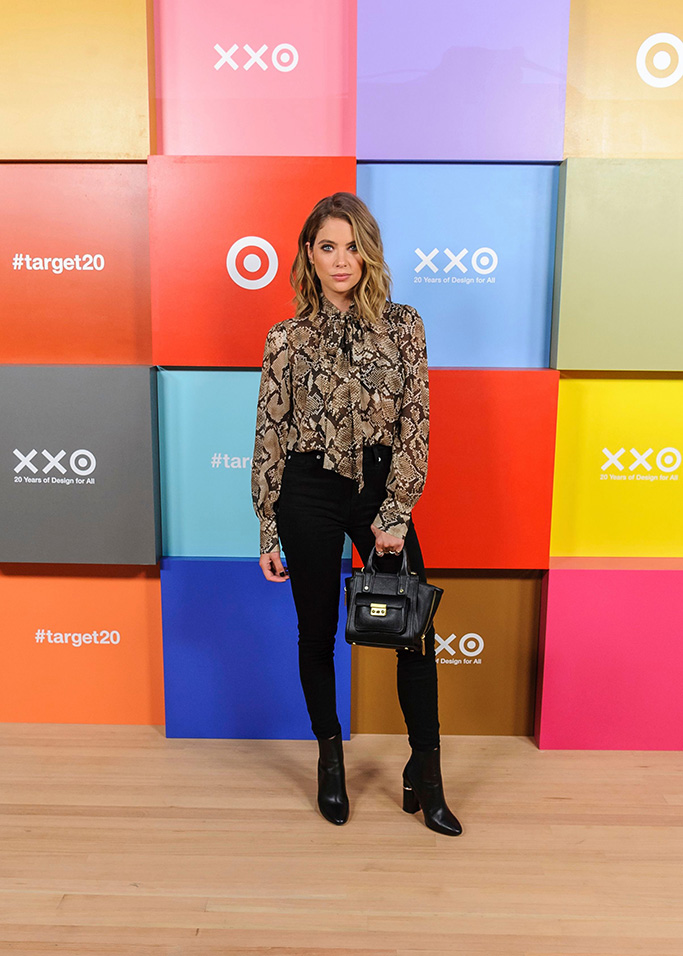 Ashley Benson attends Target's 20th Anniversary Collection launch event at The Park Avenue Armory, in New YorkTarget's 20th Anniversary Collection Launch Event, New York, USA - 05 Sep 2019