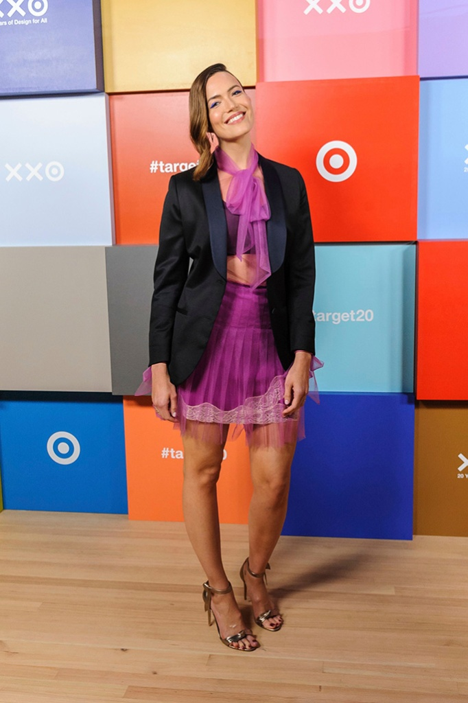 Mandy Moore, Target 20 Years of Design for All event, NYFW