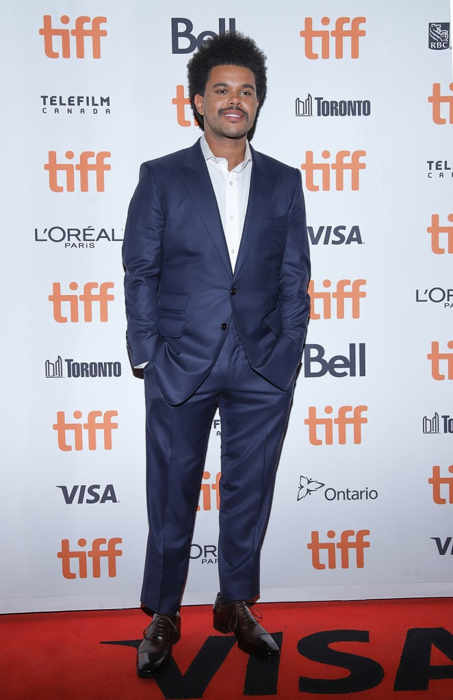 The Weeknd, tiff, suit, brogues, 'Uncut Gems' premiere, Arrivals, Toronto International Film Festival, Canada - 09 Sep 2019