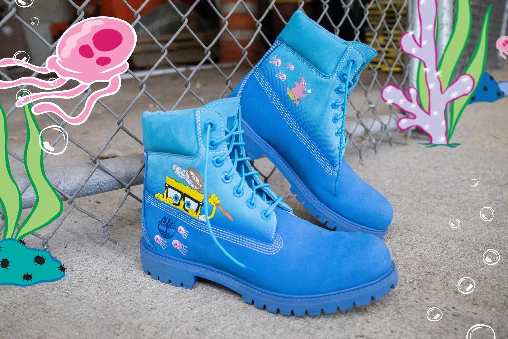 SpongeBob SquarePants Timberland Boots