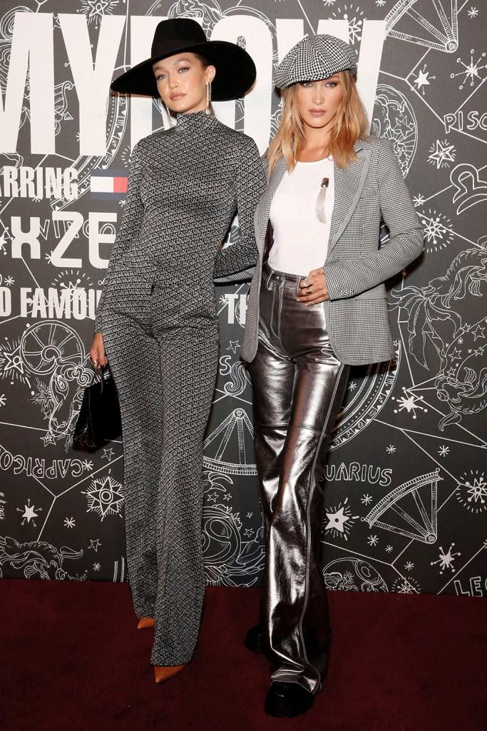 Gigi Hadid and Bella HadidTommy Hilfiger show, Arrivals, Spring Summer 2020, New York Fashion Week, USA - 08 Sep 2019