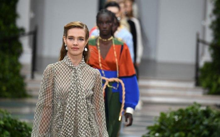 Tory Burch show, Runway, Spring Summer 2020, New York Fashion Week, USA - 08 Sep 2019, Natalia Vodianova