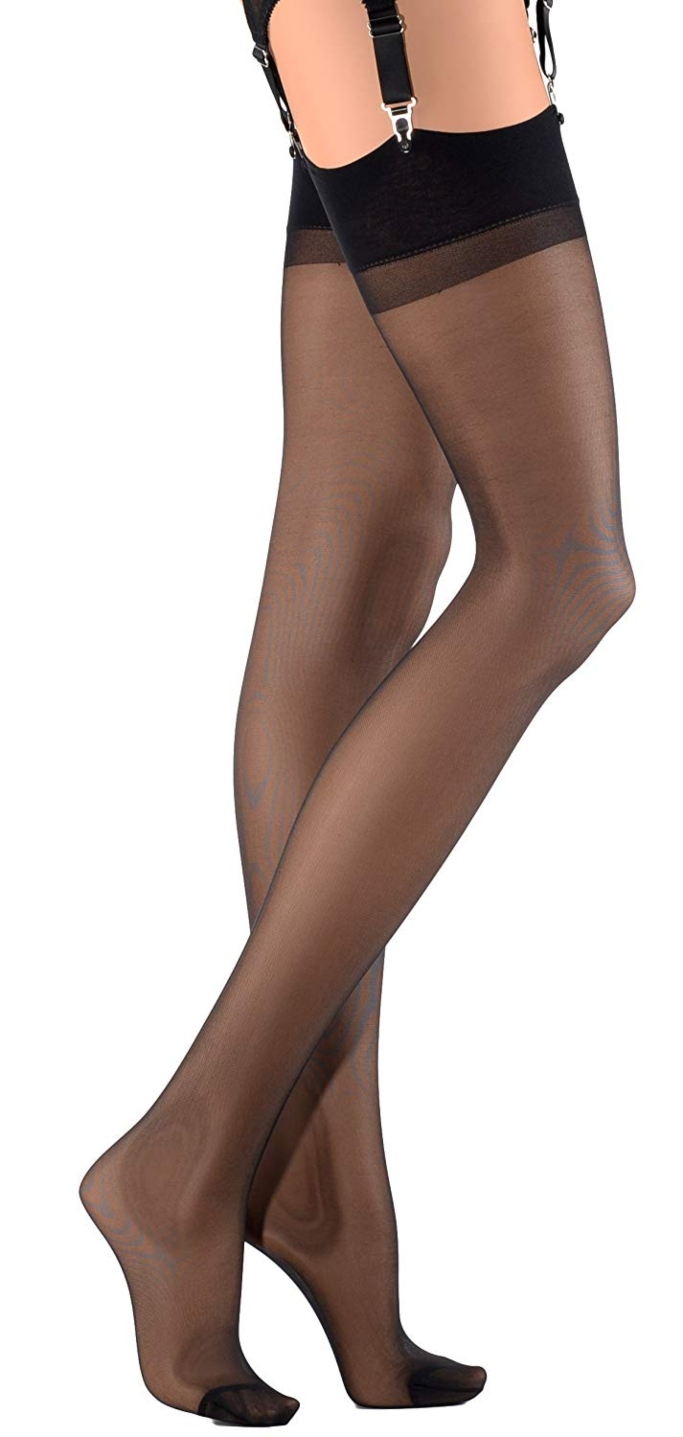 Trasparenze Sara All Sheer Stockings