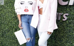 La La Anthony & Kelly Rolland