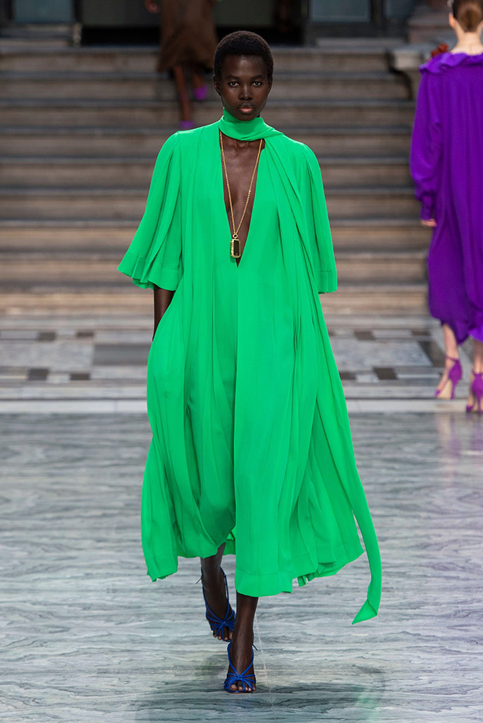 Victoria Beckham, London Fashion Week, spring '20.