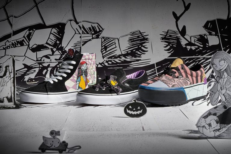 Vans , nightmare before Christmas, sneakers