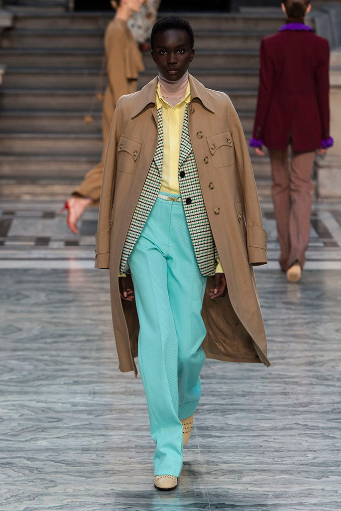 Victoria Beckham, London Fashion Week, spring ,20.