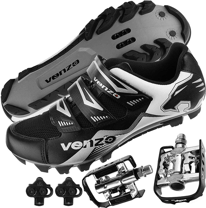 Venzo Mountain Bike Cycling Shoes