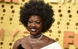 Viola Davis, 2019 emmy awards, red