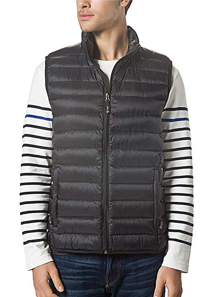 xposurzone vest, mens down vest, Lightweight Down Vest Outdoor Puffer Vest