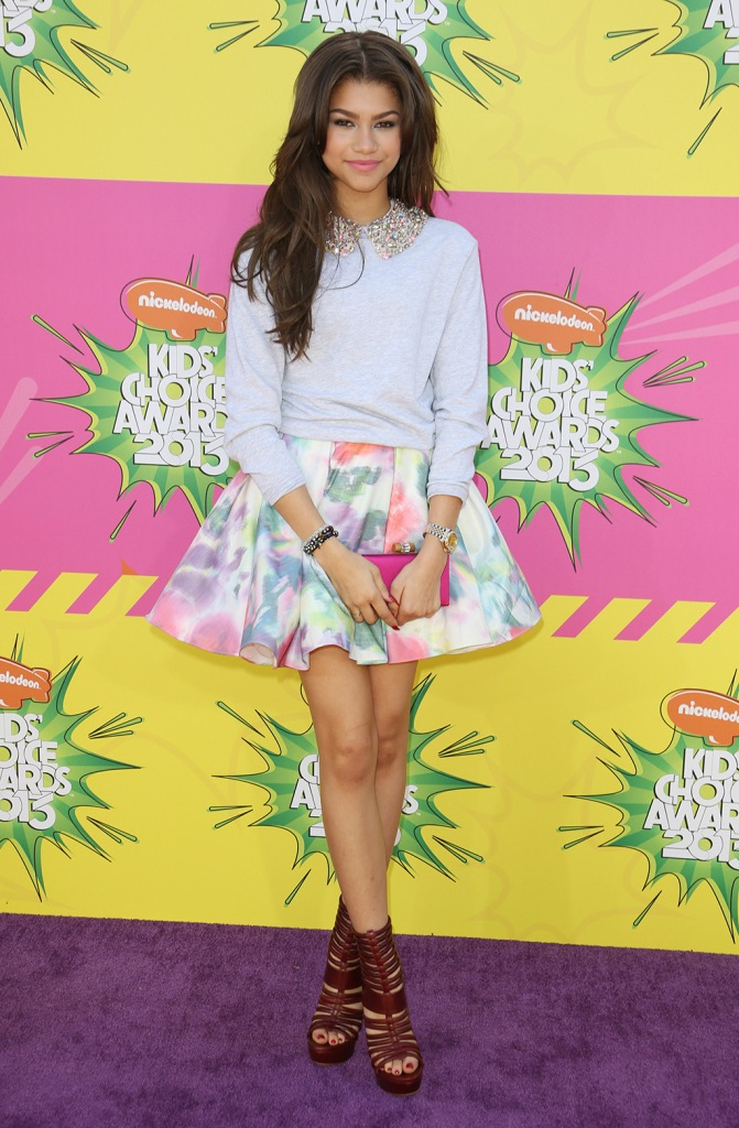 ZendayaNickelodeon's 26th Annual Kids Choice Awards Arrivals, Los Angeles, America - 23 Mar 2013 WEARING ALICE & OLIVIA