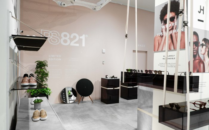 The Naked Retail store in Soho, New York offers brands the opportunity to test out physical retail on a smaller scale, in a shared space with other featured brands.