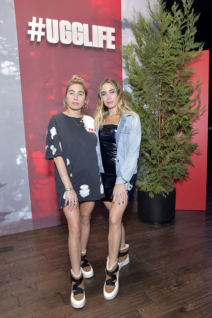 LOS ANGELES, CALIFORNIA - OCTOBER 09: The Kaplan Twins attend #UGGLIFE Campaign Launch at Academy LA on October 09, 2019 in Los Angeles, California. (Photo by Stefanie Keenan/Getty Images for UGG)