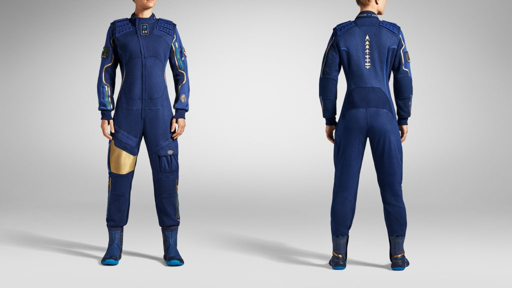 Under Armour x Virgin Galactic, boots, space suit