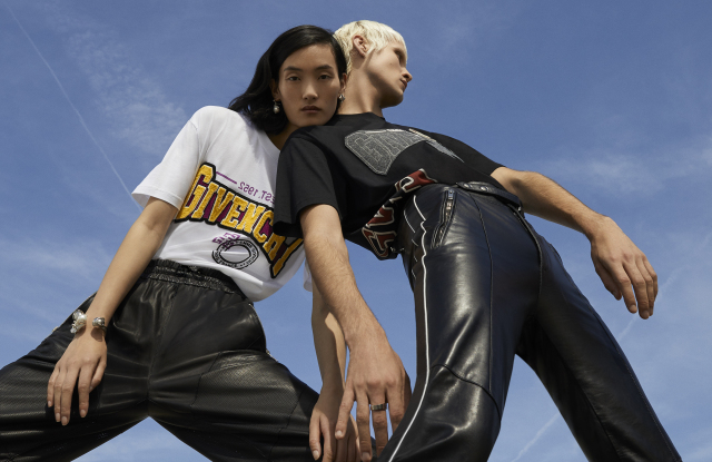 Givenchy e-commerce campaign.
