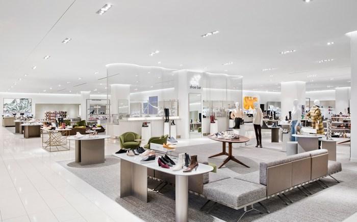 Nordstrom New York Shoe Department