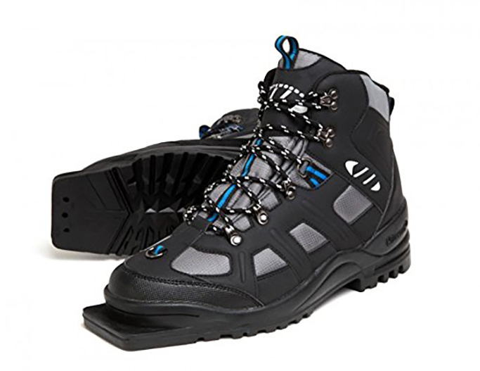 Whitewoods New Adult 301 3 Pin 75mm Nordic Cross Country XC Insulated Ski Boots, xc boots