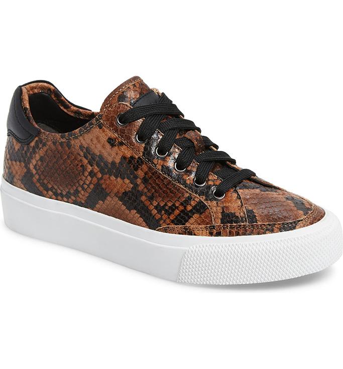 Rag & Bone Army Snake Embossed Low Top Sneaker, Nordstrom Cyber Sale, black friday sale