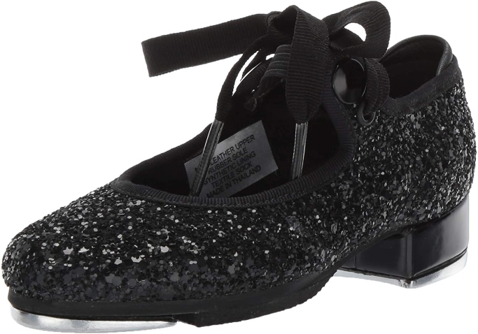 Bloch Dance Girls' Glitter Tap Sparkle Tap Shoe, tap shoes for girls