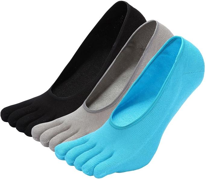 Zakasa No-Show Ankle Toe Socks, toe socks